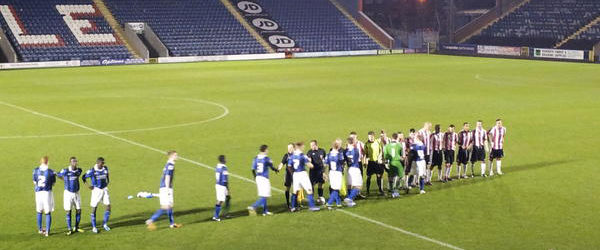 14/11/2012 – Rochdale U18 2 – 1 Sheffield United U18