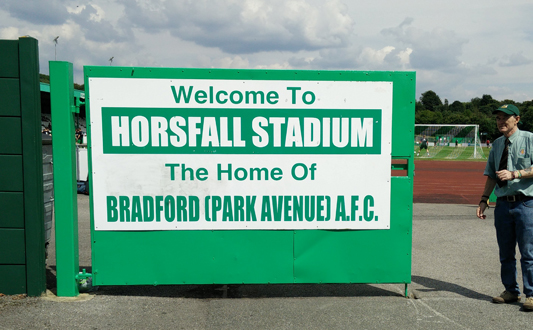 Bradford Park Avenue v Sheffield United U21