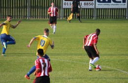Stocksbridge Park Steels v Sheffield United