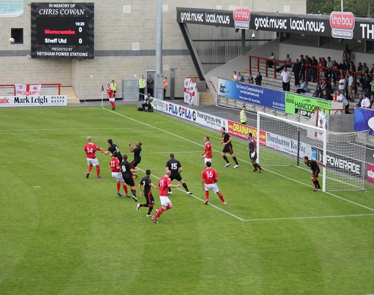 Morecambe v Sheffield United