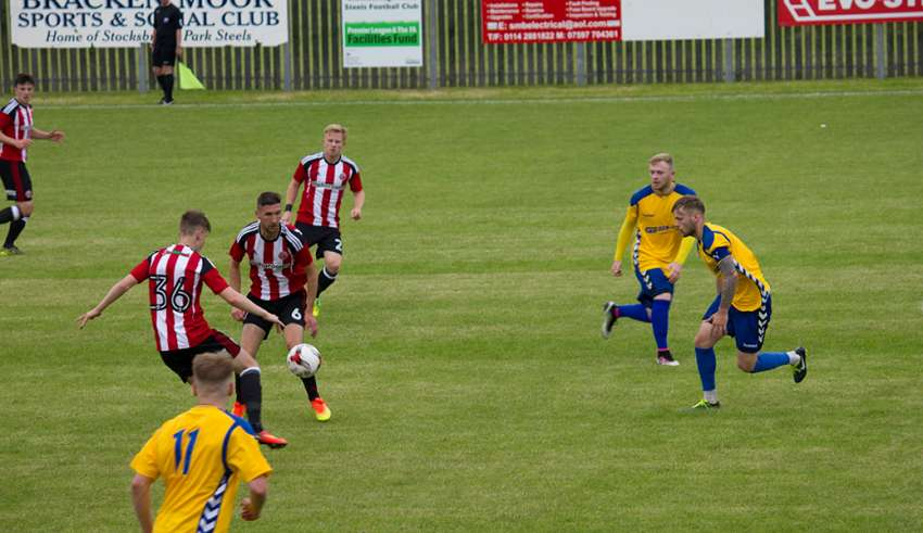 David Brook - Stocksbridge Park Steels v. Sheffield United